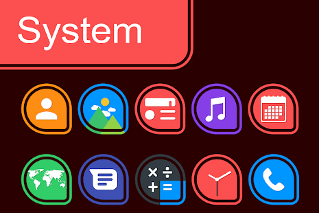 Pixel Ring Drop - Icon Pack Screenshot