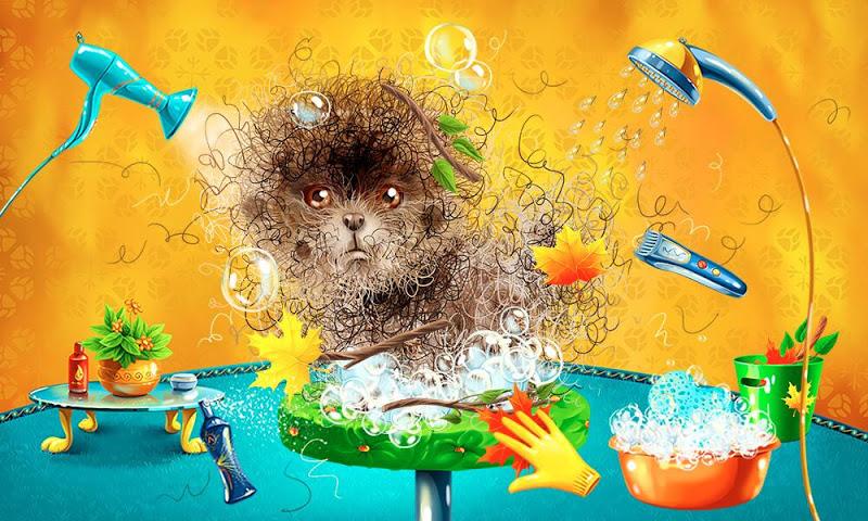 android Animals washing for kids Screenshot 1