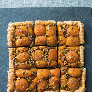 Apricot-Pistachio Tart.