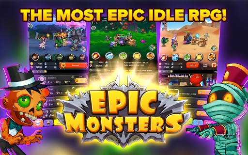 Epic Monsters : IDLE RPG poster