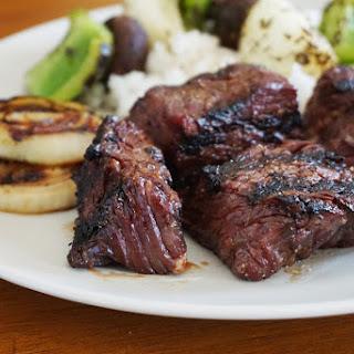 Brown Sugar Bourbon Steak Tips Recipe