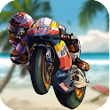 Beach Mini Stunt Moto icon