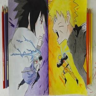 Jak kreslit Naruto krok za krokem - náhled