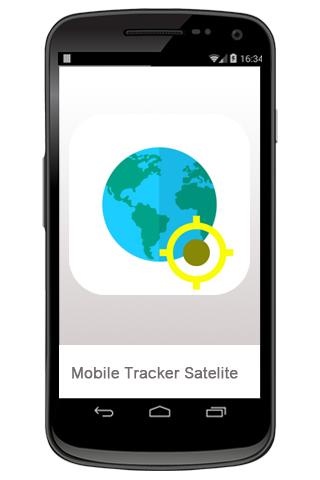 携帯トラッカー衛星
