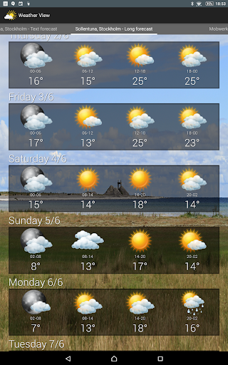 Weather View - The Weather app  screenshots 9