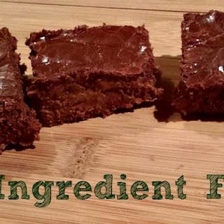 2 Ingredient Fudge.