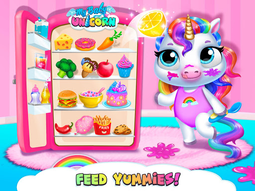 My Baby Unicorn - Virtual Pony Pet Care & Dress Up android2mod screenshots 16