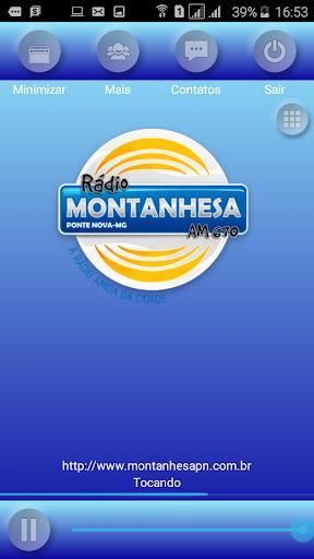 Rádio Montanhesa de Ponte Nova 2.0.0 screenshots 1
