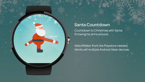 Santa Countdown for WatchMaker