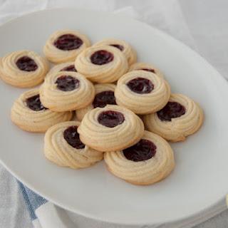 Spritz Cookies With Jam