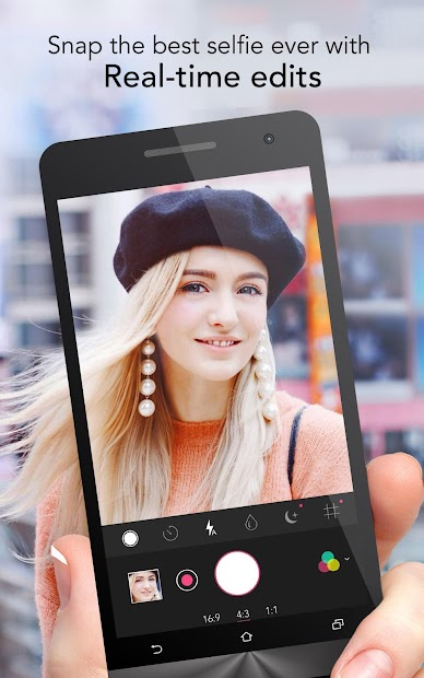 YouCam Perfect - Best Selfie Camera & Photo Editor Android App Screenshot