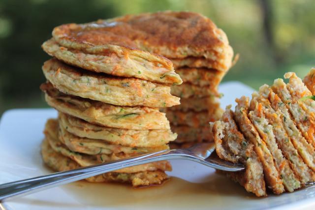 Zucchini Carrot Pancakes Recipe