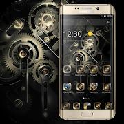 Gold Black Luxury Gears Theme