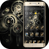 Gold Black Luxury Gears Theme