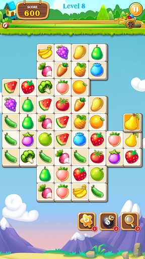 Connect Fruit - Pair Matching Puzzle 1.6 screenshots 1