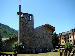 Photo: Iglesia de Castejón de Sos.