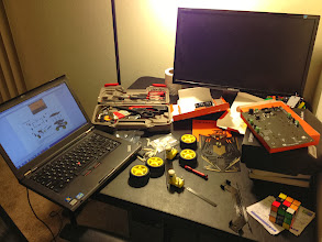Photo: my workspace!