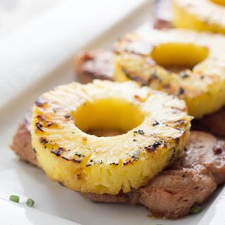 Skinny Pineapple Teriyaki Pork Chops.