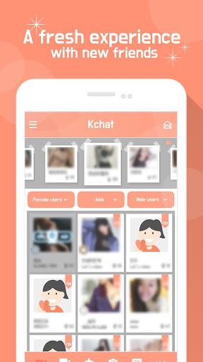 KChat - Video Chat, Live Chat, Chat, Chatting 4.07 screenshots 1
