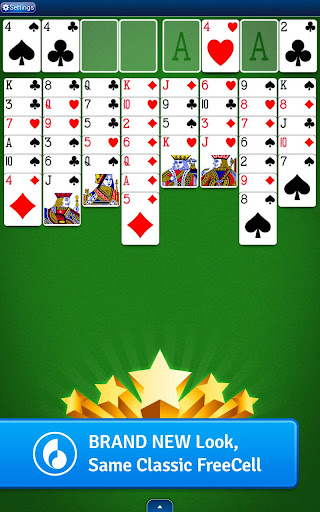FreeCell Solitaire  gameplay | by HackJr.Pw 11
