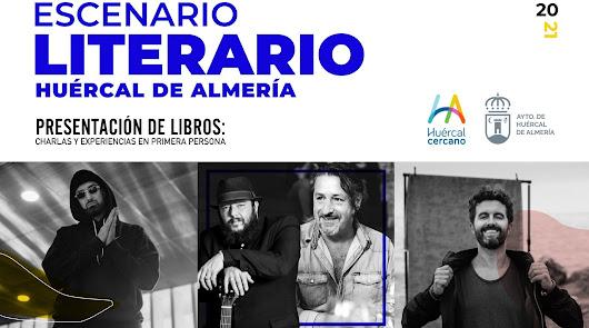 Cuatro músicos al desnudo en el 'Escenario Literario' de Huércal de Almería