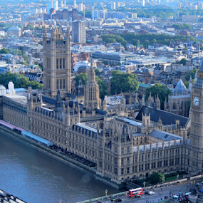Palace of Westminster by Deborah Russenberger - Buildings & Architecture Public & Historical