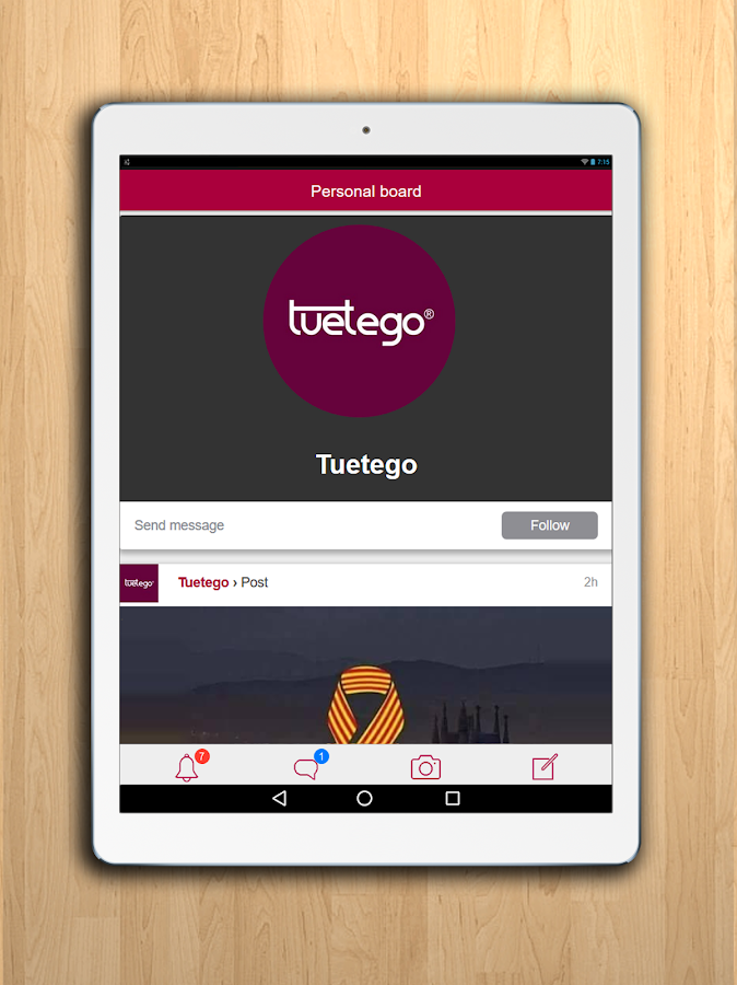 Tuetego- screenshot