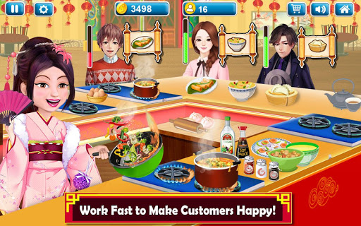 Chinese Food Court Super Chef Story Cooking Games 1.3 screenshots 10