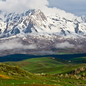 Season Ending by Brent Flamm - Landscapes Mountains & Hills