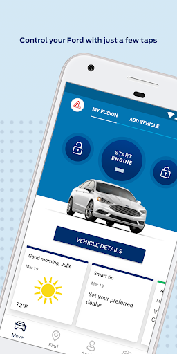 Screenshot for FordPass - Fuel, Park Dealers in United States Play Store
