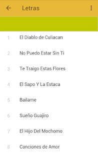 Colmillo Norteño Musica y Letras - náhled