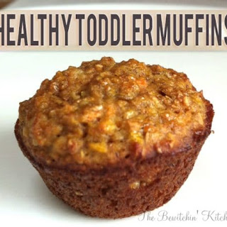 Healthy Toddler Muffins.