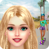 Skater Girl Makeover - Makeup and Dress Up