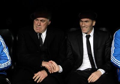 """Le très bel hommage de Carlo Ancelotti à Zinedine Zidane : """"Il a changé mon idée du football"""""""