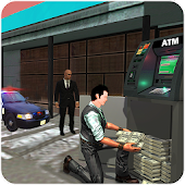 Bank Robbery Crime Police - Chasing Shooting Game