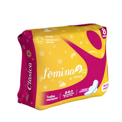 toalla sanitaria femina dia 8und