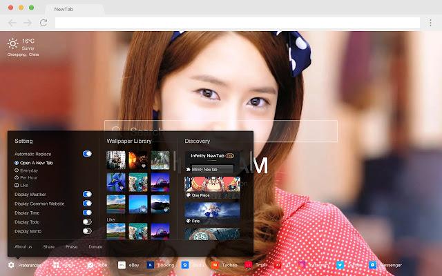 K-POP music new tab HD wallpaper star theme