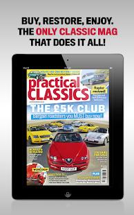 Practical Classics Magazine - náhled