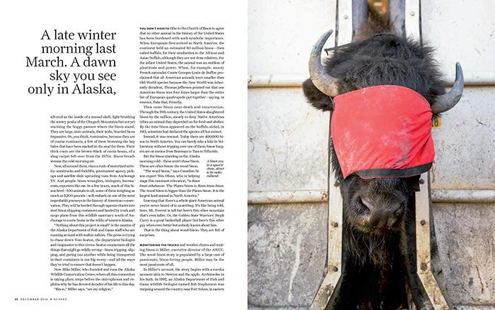 Shageluk Alaska for Sunset Magazine