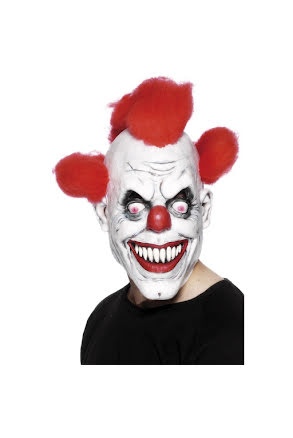 Mask, Clown rött hår