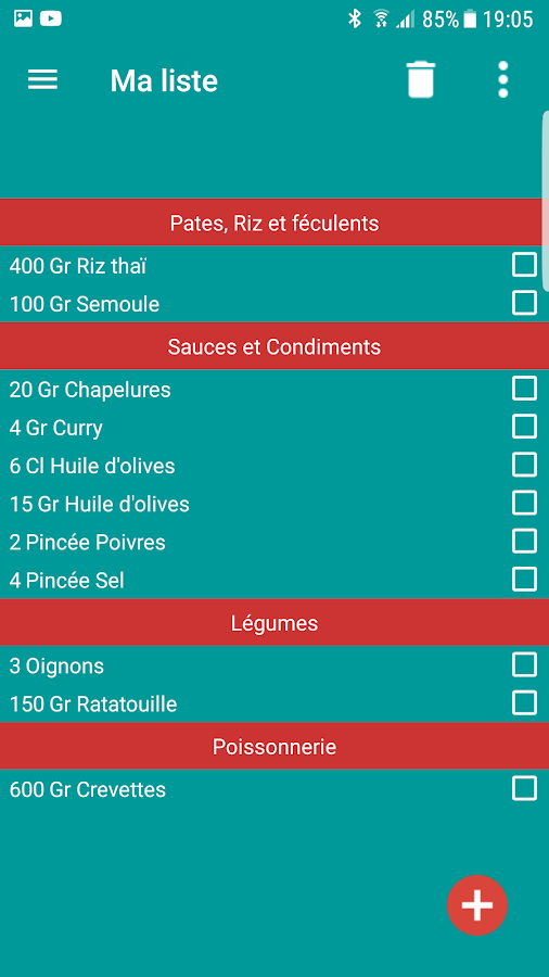 iRepas - Menu de la semaine- screenshot