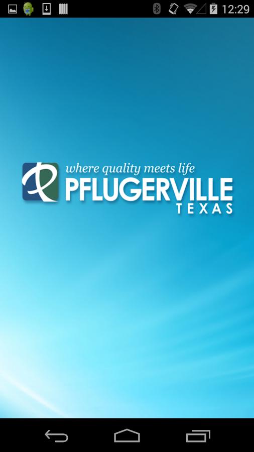 Pflugerville, TX City Gov't - screenshot