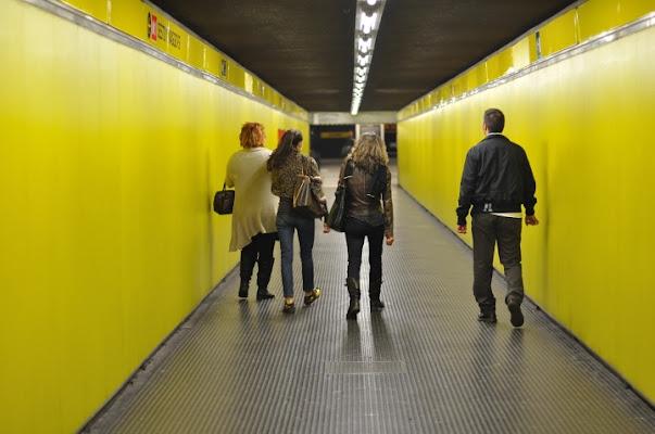 Giallo...in metropolitana di vanity