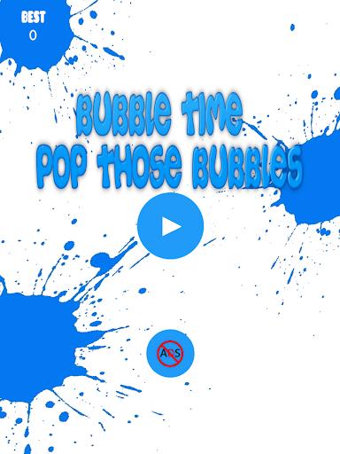 Bubble Time: Pop Those Bubbles