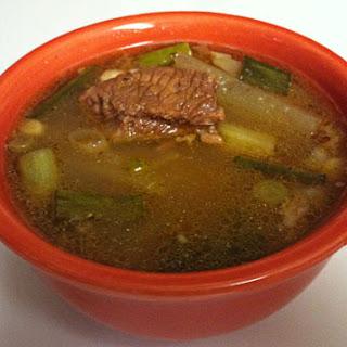 Low-Carb Korean Gomtang (beef soup).