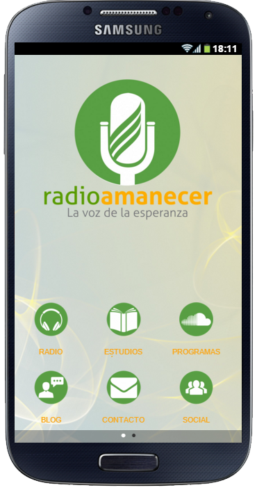 Radio Amanecer Internacional- screenshot