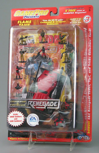 Action figure:Command & Conquer: Renegade Flame Tank