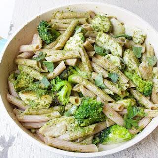 Healthy Chicken Pesto Pasta Recipes.