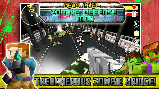 Dead Pixel: Zombie Defense MOD