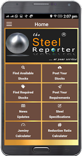 The Steel Reporter - náhled